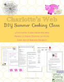 Charlotte's Web Themed Cooking Activities