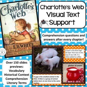 Charlotte's Web Visual Text Support
