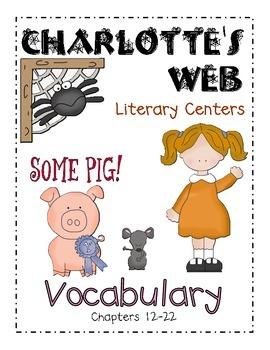 Charlotte's Web- Vocab Ch. 12-22