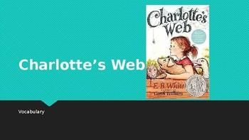 Charlotte's Web Vocabulary PowerPoint