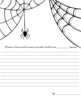 charlottes web chapter writing prompts