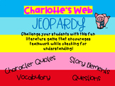Charlotte's Web by E. B. White Jeopardy Style Game Show
