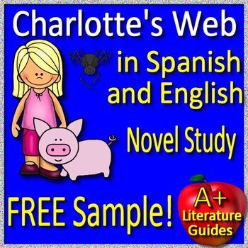 Charlotte's Web in Spanish and English - Free Sample of La Telaraña de Carlota