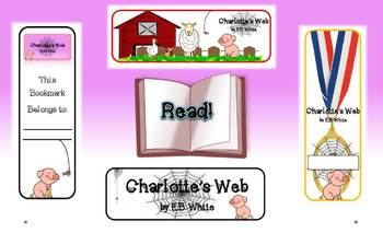 Charlotte's Web 10 Original Bookmarks