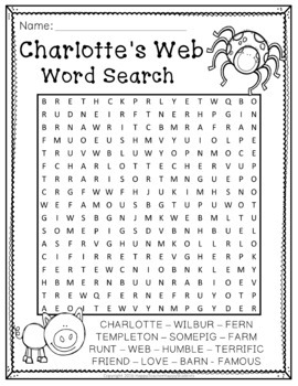 charlottes web writing act by