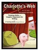Charlotte's Web Thinking Skills and Graphic Organizers