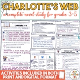 Charlotte's Web Activity Packet