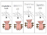 Charlottes Web Bookmark