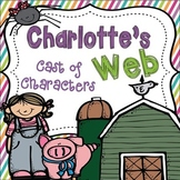 Charlotte's Web Cast of Characters Booklet