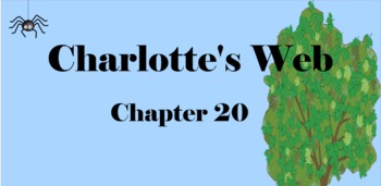 Charlotte's Web Chapter 20 Mimio & More