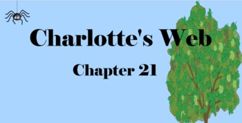 Charlotte's Web Chapter 21 Mimio & More