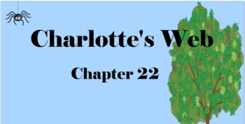 Charlotte's Web Chapter 22 Mimio & More