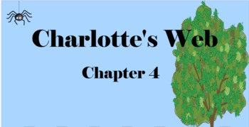 Charlotte's Web Chapter 4 Mimio & More