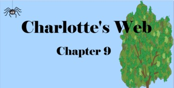 Charlotte's Web Chapter 9 Mimio & More