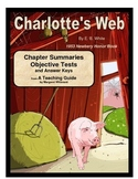 Charlotte's Web    Chapter Summaries and Objective Tests