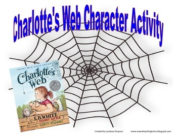 Charlotte's Web Character Activity