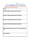 Charlotte's Web--Character Analysis & Reading Response Culminating Activity