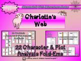 Charlotte's Web Character & Plot Analysis Fold Ems