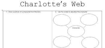 Charlotte's Web Character Study