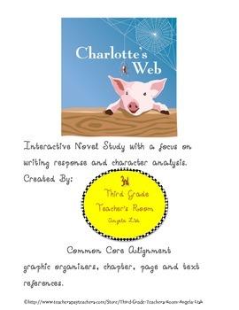 Charlotte's Web Common Core Aligned Interactive Novel Study