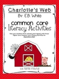 Charlotte's Web Common Core Literacy Activities