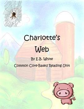 Charlotte's Web Common Core Reading Unit