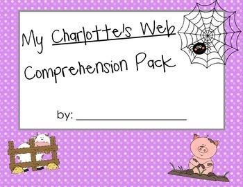 Charlottes Web Comprehension Pack