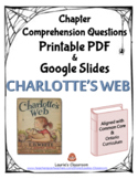 Charlotte's Web Comprehension Questions