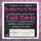 Charlotte's Web Task Cards