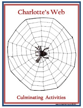 Charlotte's Web Culminating Activities