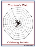 Charlotte's Web Culminating Activities
