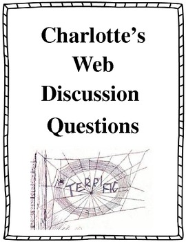Charlotte's Web Discussion Questions 2.RL.1