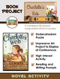 Charlotte's Web  {Dodecahedron Puzzle & Art Project}