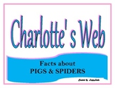 Charlottes Web Facts about Pigs & Spiders