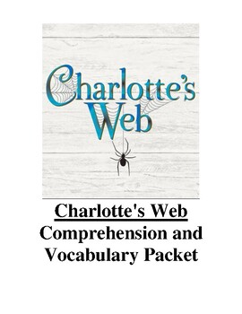 Charlotte's Web Guided Reading Unit (Level R)