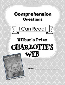 Charlotte's Web I Can Read Comprehension Questions