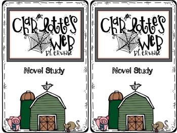 Charlotte's Web Interactive Journal Novel Study Set