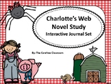 Charlotte's Web Interactive Journal Novel Study Set