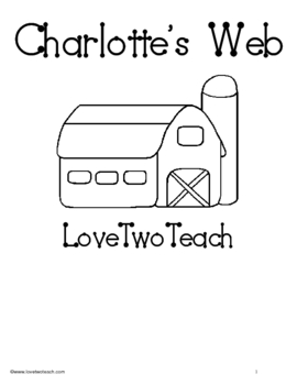 Charlotte's Web:  Literacy and Math Fun