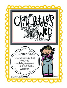 Charlotte's Web Literature Unit