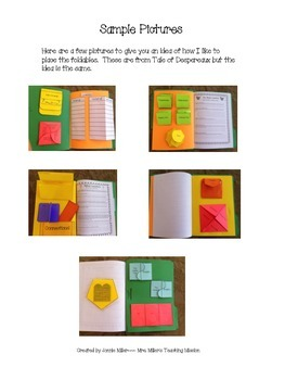 Charlotte's Web Interactive Literature Unit with Foldables