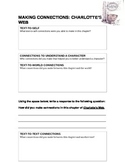 Charlotte's Web Making Connections Activity and Written Response