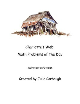 Charlotte's Web Math Problem of the Day