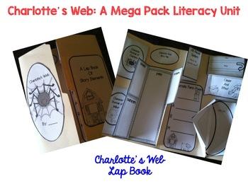 Charlotte's Web Mega Pack Literacy Unit Aligned to the Common Core