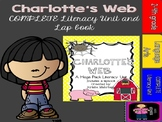 Charlotte's Web Mega Pack Literacy Unit Aligned to the Common Core- with lapbook