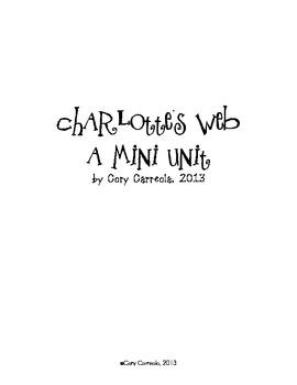 Charlotte's Web Mini Unit