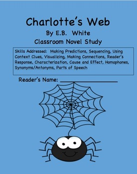Charlotte S Web Novel Study Games And Activities By