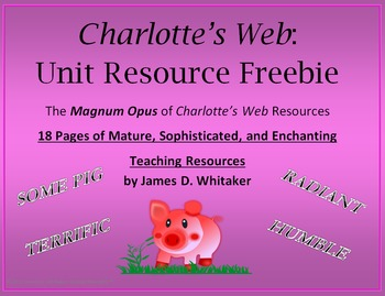 an analysis of charlotte s web by Charlotte devises a system of writing words of praise for wilbur in her web as  word  social studies—analyze and synthesize, investigate science—.