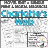 Charlotte's Web Novel Unit