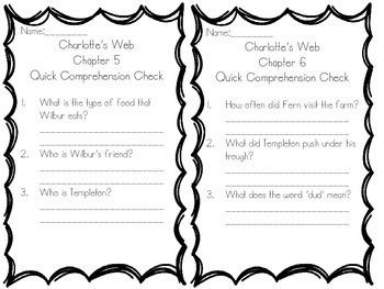 Charlotte's Web Novel Unit